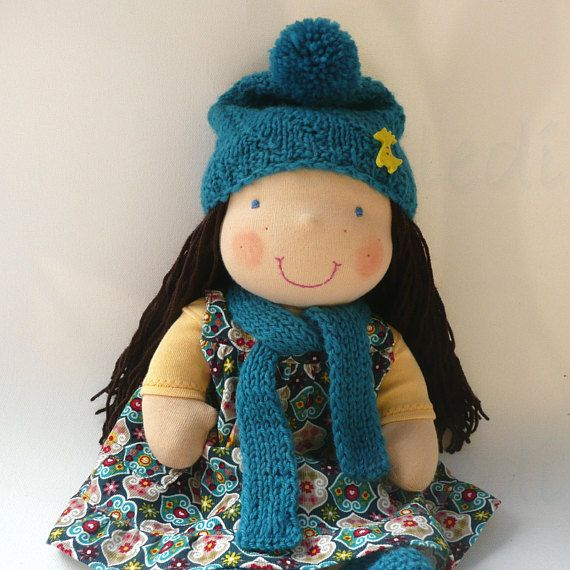 16 sweet Waldorf doll READY TO SHIP Steiner doll