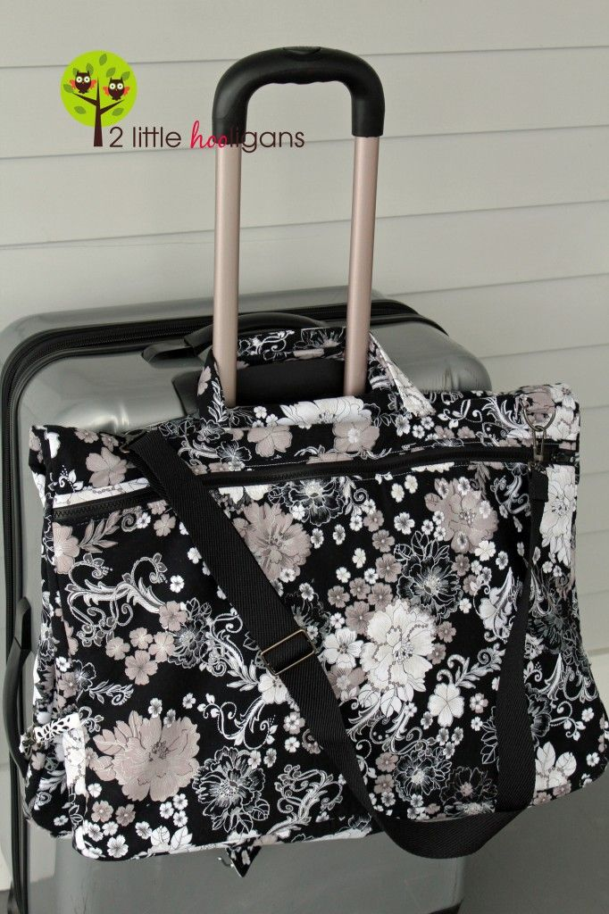 Inspired by Fabric: Garment Bag Tutorial and Giveaway!
