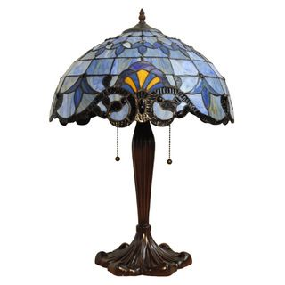 Victorian Design Tiffany-style Table Lamp | Overstock™ Shopping - Great Deals on Chloe Table Lamps