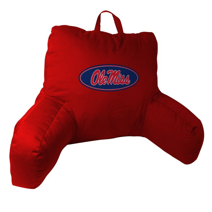 Mississippi Collegiate 20.5x21 Bed Rest Pillow