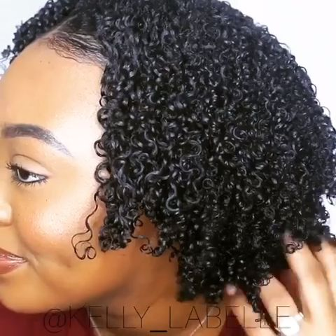 SHINY + JUICY Wash and Go on Natural Hair