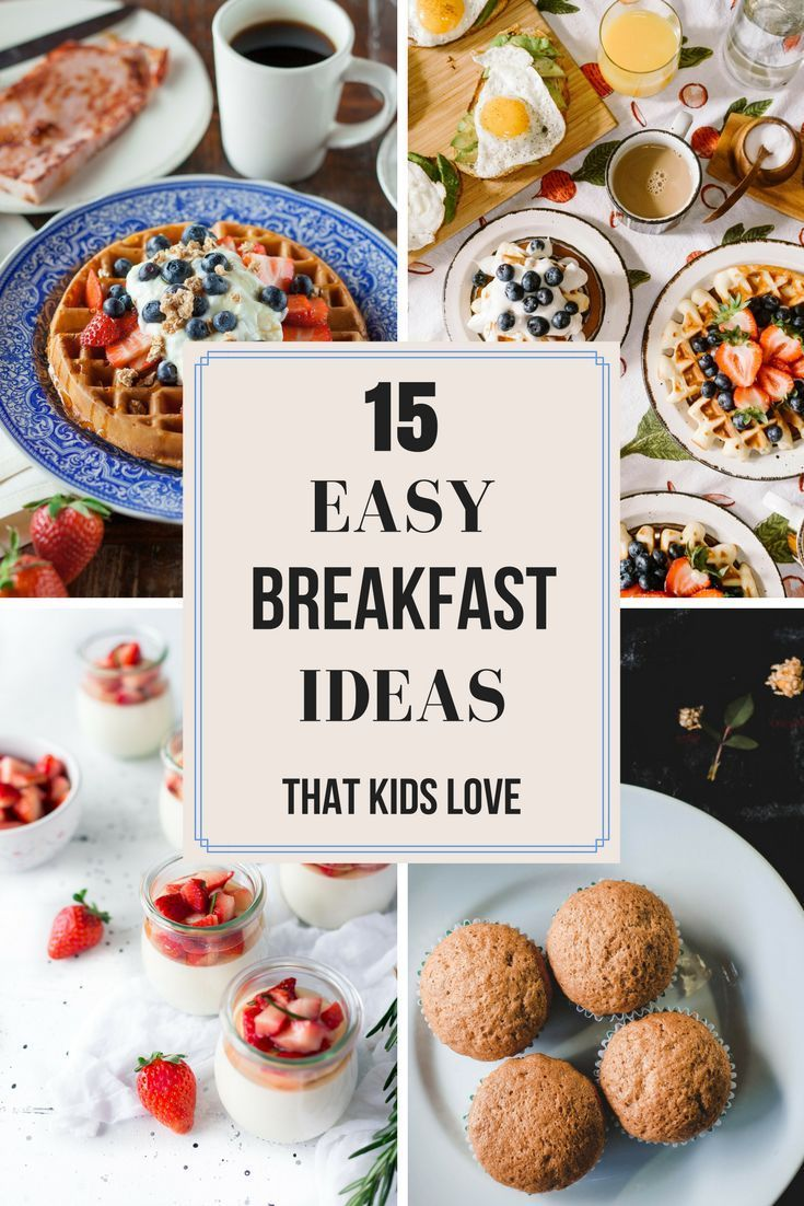 Breakfast is the most important meal of the day, but who's got time to cook truly delicious meals in the morning? Well, now you do! From healthy and make ahead breakfast dishes to fast and easy casseroles and on the go muffins, your kids will love these breakfast recipes!