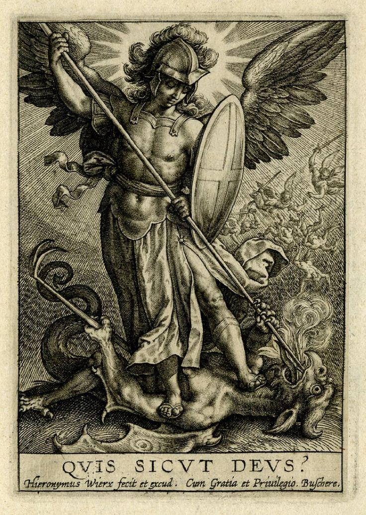 Quis Sicut Deus – Saint Michael story   Quidnunc