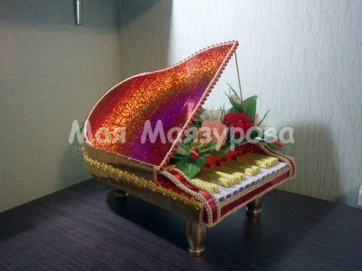 Gallery.ru / РОЯЛЬ ЛЮБИМОМУ - Музыкальные подарки - pchjolka-Maja