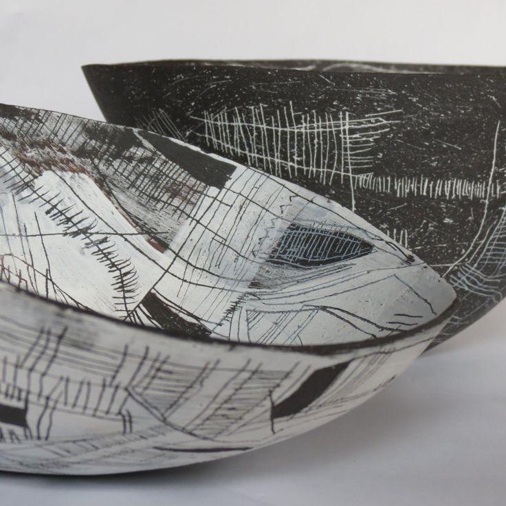 Contemporary ceramics from South African artist Kim Sacks.