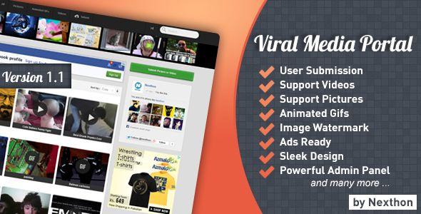 Viral Media Portal