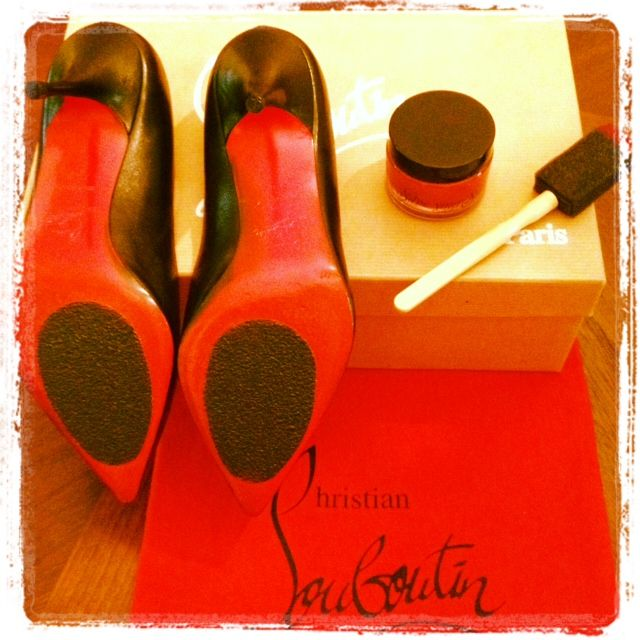 I purchased my first pair of Christian Louboutin shoes (also known ...