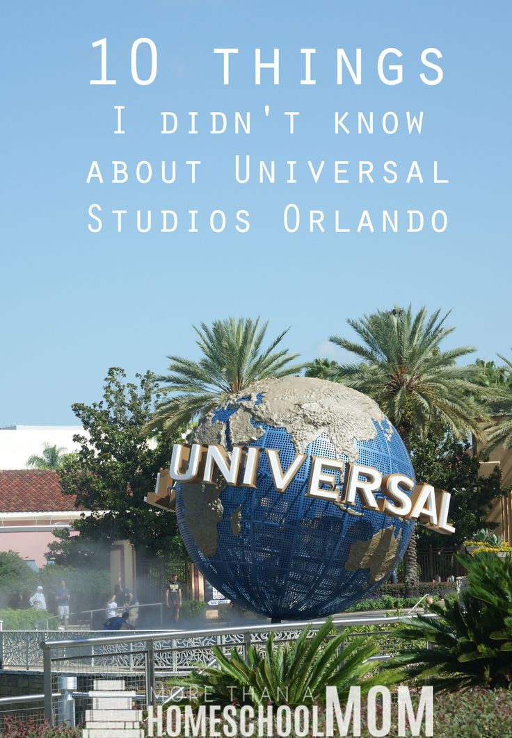 10 Things I didn't know about Universal Studios Orlando