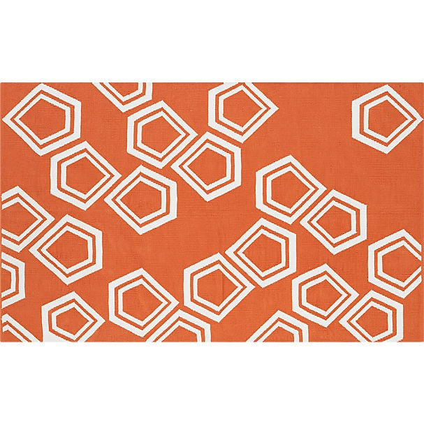 17 Best Images About Cb2 On Pinterest Orange Rugs