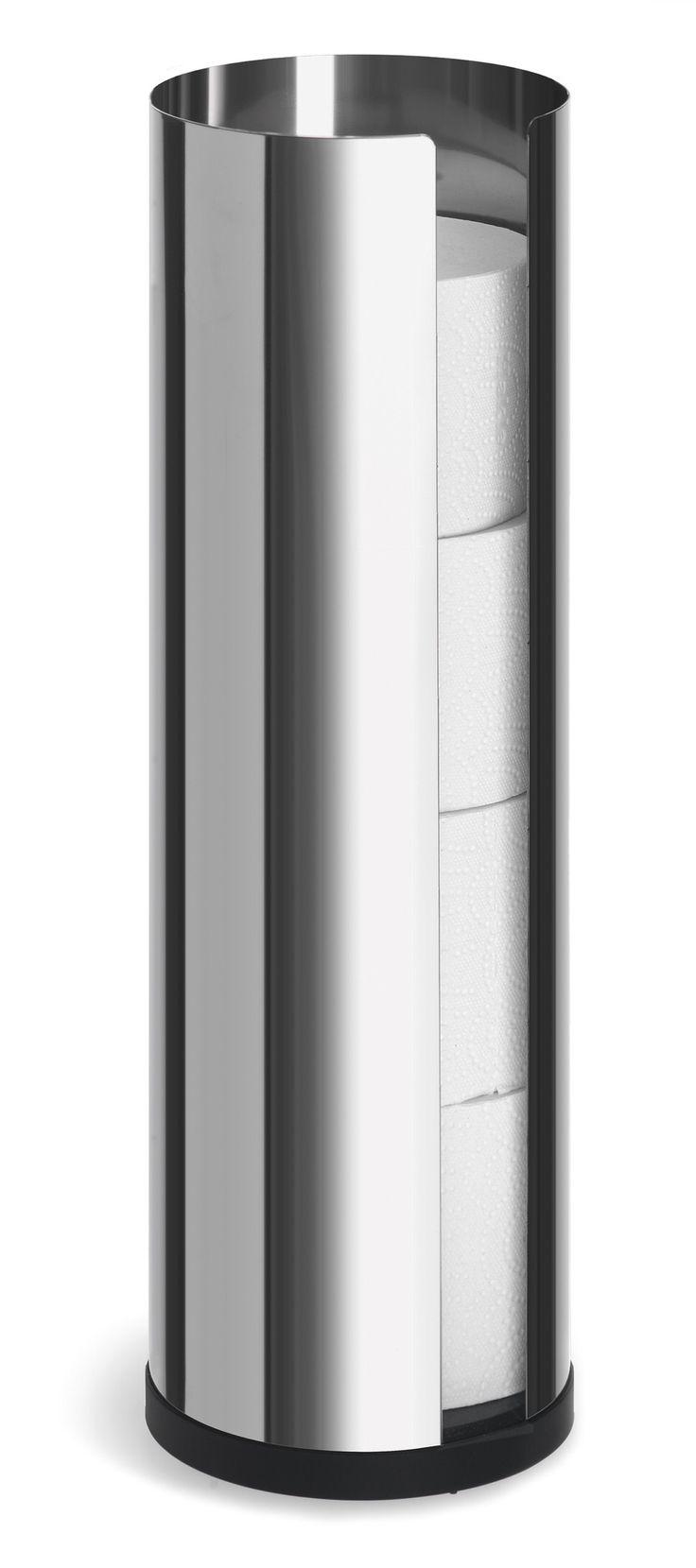Modern free standing toilet paper holder - Nexio Freestanding Toilet Paper Holder