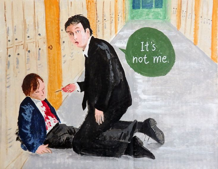 """Grosse Pointe Blank """"It's not me"""" by Mikinoki"""
