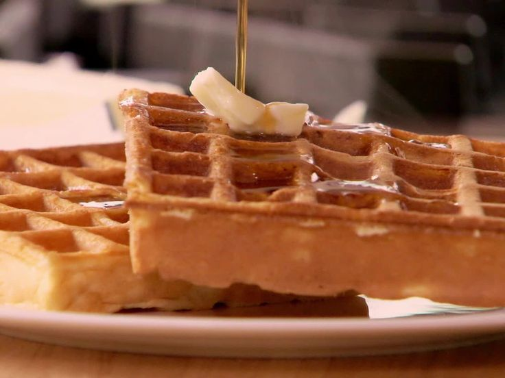 Waffles recipe from Ree Drummond via Food Network