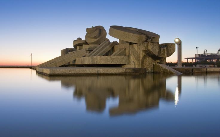 #Pescara #Pietro #Cascella #Sculpture #Abruzzo #Italy #Travel #Trip