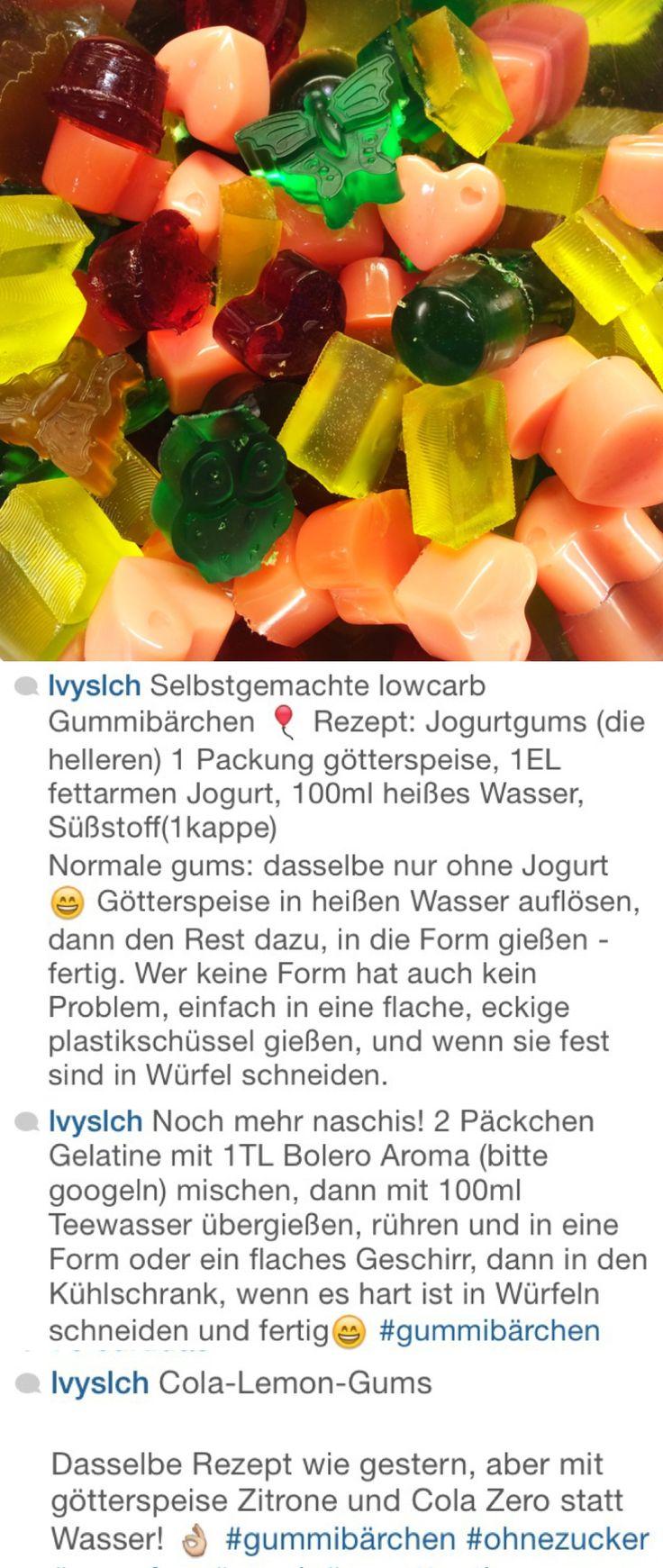 Gummibärchen / balinhas de gelatina para todas as fases