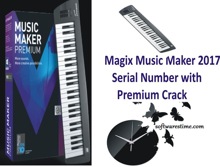 serial number to activate magix music maker 16 premium