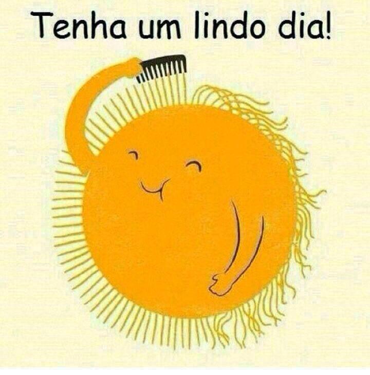 Bom dia sol sun