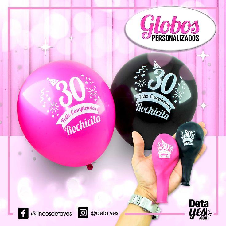 Decorar tu Fiesta ahora tiene mas estilo con Nuestros Globos Personalizados,  Somos @deta_yes, Envíos a Toda Colombia, Pedidos Cel. 3185657519