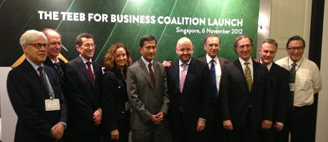 International business, government and civil society leaders join forces in global forum for valuing natural capital