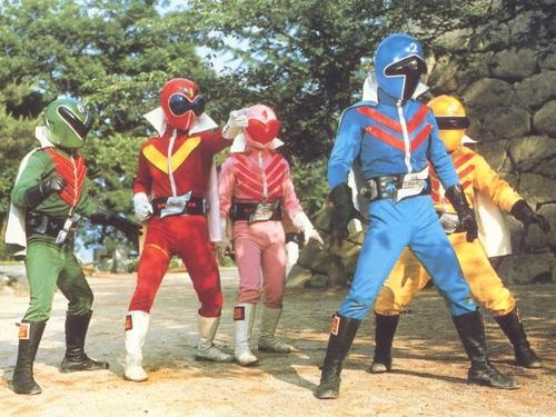 Go-ranger (1975-77), The First Generation of Power Rangers