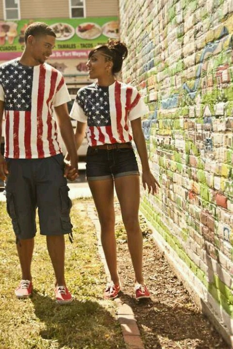matching boy and girl 4th of july outfits