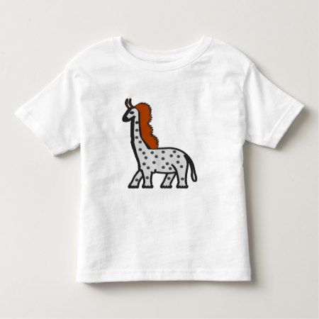 A strange tall and large animal toddler t-shirt - tap, personalize, buy right now!