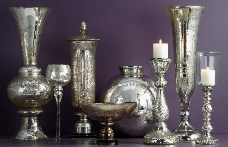 1000+ Images About Mercury Glass Decorating On Pinterest