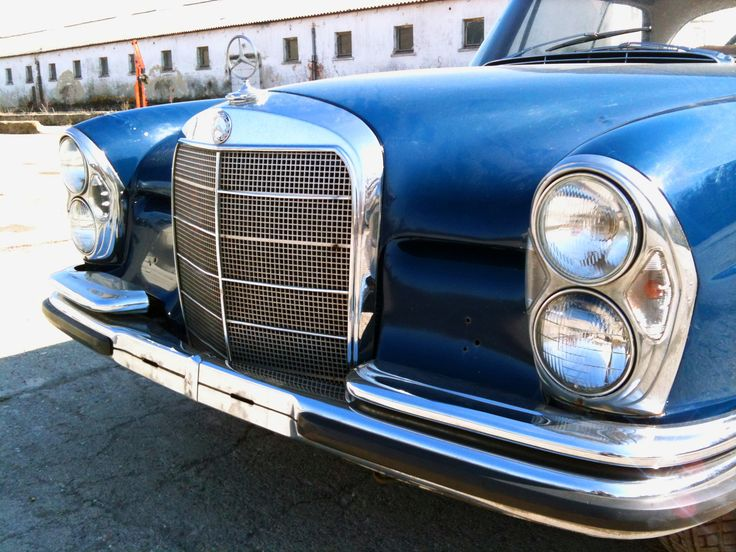 Mercedes W111 220SE Coupe (1965) Original Condition