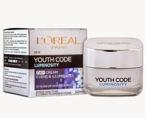 Loreal youth code luminosity day cream