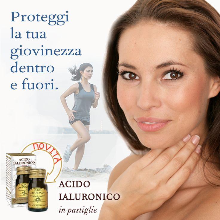 ACIDO IALURONICO Dr. Giorgini, integratotre a base di acido ialuronico e vitamine. Per prenderti cura della tua #pelle anche dall'interno http://www.drgiorgini.it/index.php/seridonprog50g-drg-donna-progress-50-g-pastiglie?fee=8&fep=20419