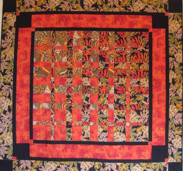 @Patrizia Kuehn Rossini #MasaiMara 114x118 cm. , tecnica #Convergenze