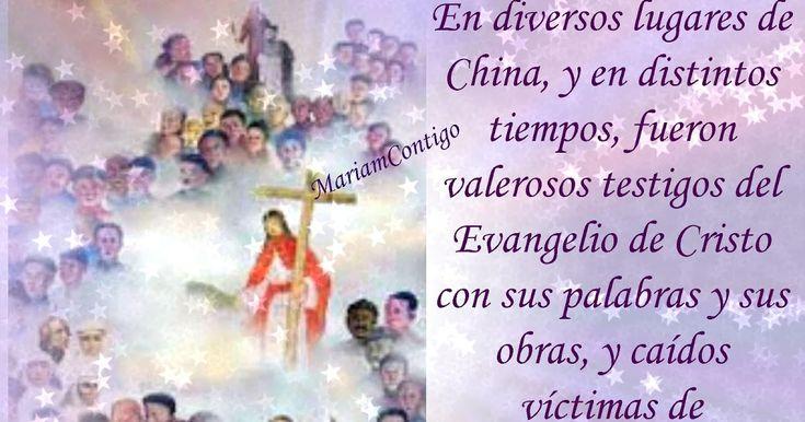 SAN AGUSTÍN ZHAO RONG Y MÁRTIRES DE CHINA (119) Sichuan, China  (1746 †1815)  (†1648 - 1930)  Mártir, Sacerdote Beatificado por León XIII 27 may 1900  Canonizado por Juan Pablo II 1 oct 2000  http://santoralmariareina.blogspot.com/2012/07/santo-de-hoy-9-de-julio.html