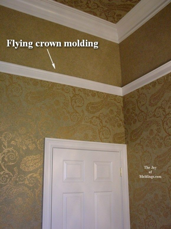 Crown Molding Guest Bathroom 1 Crown Molding Moldings And Trim Ceiling Trim