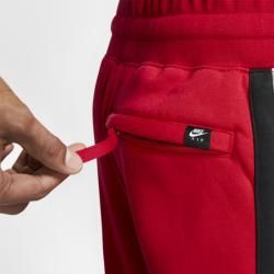 Nike Air Fleece-Hose für Herren - Rot NikeNike