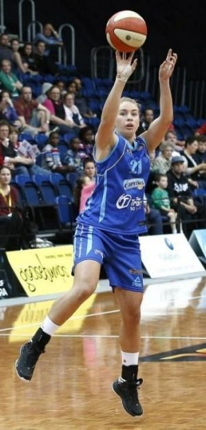 Sarah McAppion scored a game-high 28 points - Congratulations to Sarah - St Clare's old girl - Y11 2006.