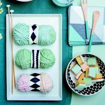 Des gâteaux en forme de pelotes de laine / Beautiful Cake