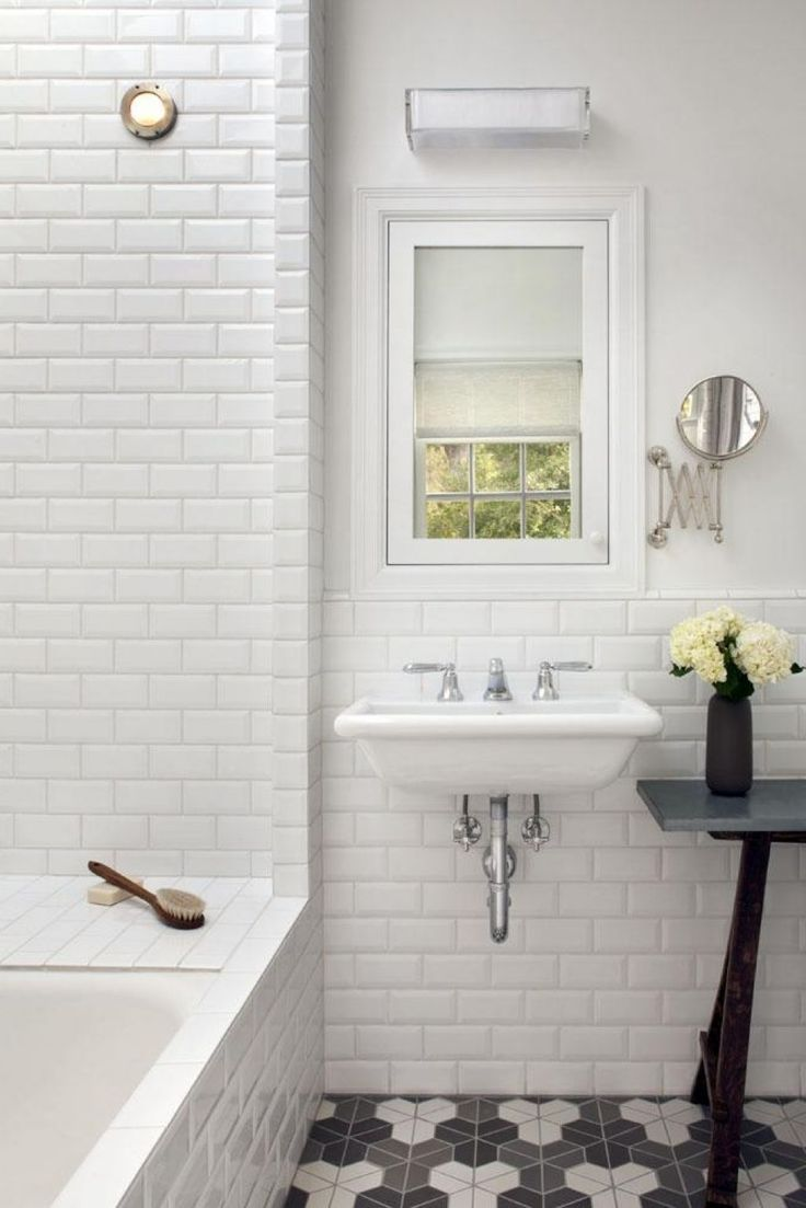 Best 25 subway tile bathrooms ideas only on pinterest for Tiled bathroom designs pictures