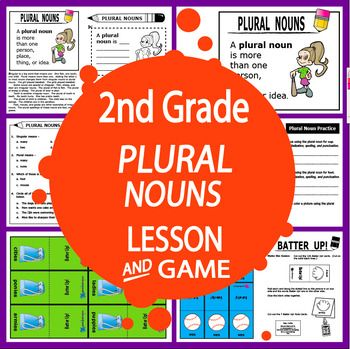 Teach students to form, spell, and use Regular and Irregular Plural Nouns in their writing with a COMPLETE Common Core-aligned lesson and engaging hands-on activities.