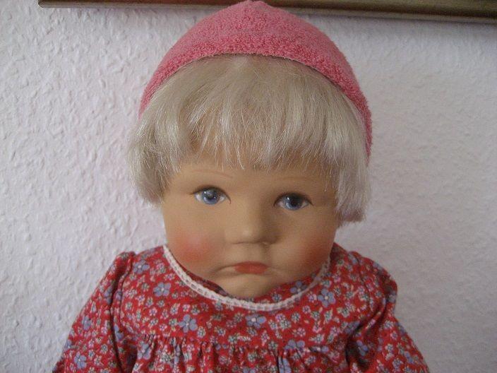 Käthe Kruse  Puppe    Du Mein  mit Haaren. ca. 50 cm