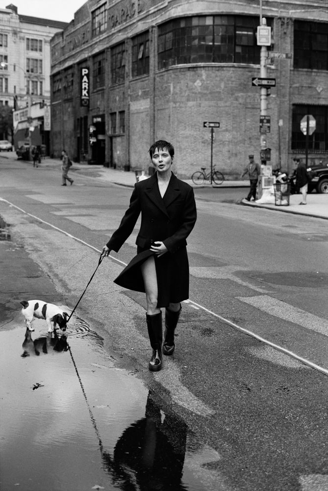 Isabella Rossellini   by PETER LINDBERGH
