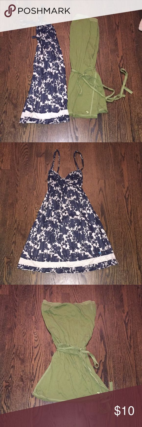 Abercrombie and Fitch dresses Both dresses are size medium! Abercrombie & Fitch Dresses Mini