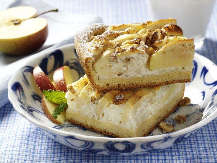 Apfel-Milchreis-Kuchen vom Blech