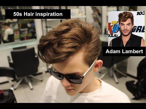 Adam Lambert | 50s Mens hair Inspiration | Mens hair 2016