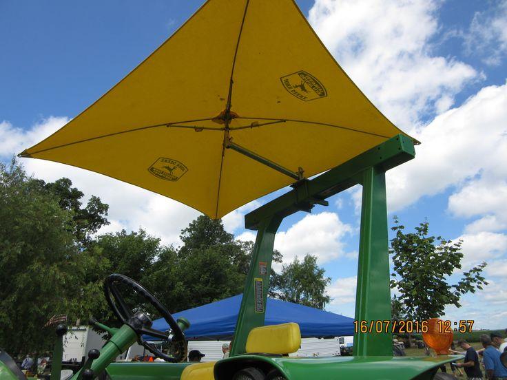 John Deere 4020 Roll Gard With Umbrella Jd Farm Equip My