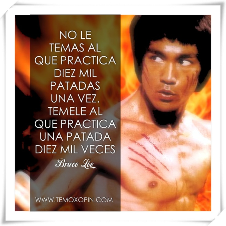 Bruce Lee Wisdom!!