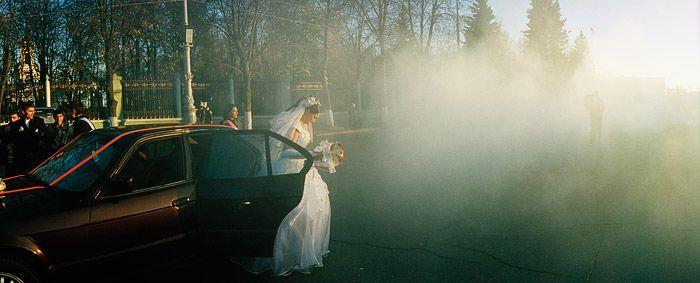 smoky wedding