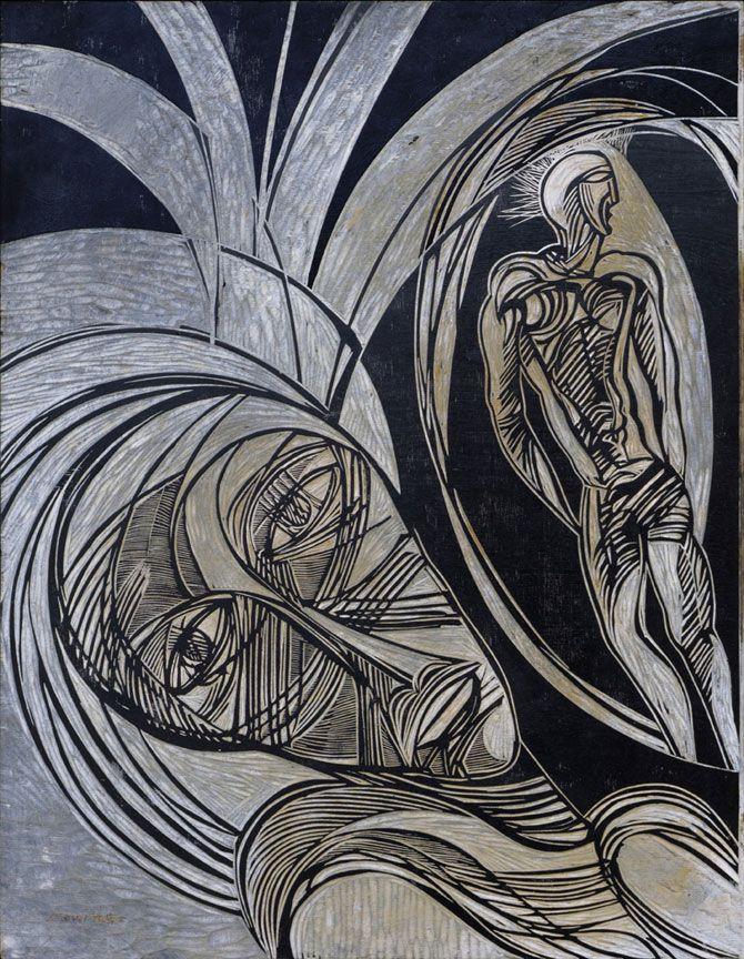 Cecil Skotnes: Head and figure