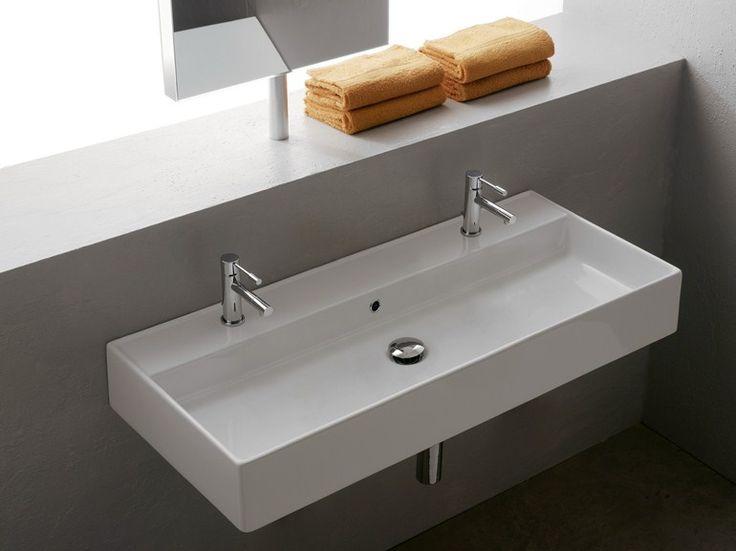 17 meilleures id es propos de lavabos doubles sur. Black Bedroom Furniture Sets. Home Design Ideas