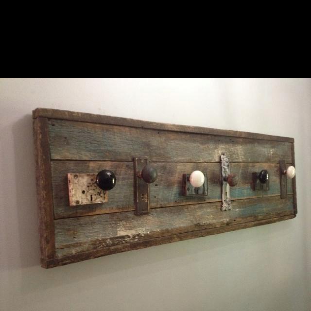 Pin On Home Sweet 3, Old Wooden Door Coat Rack