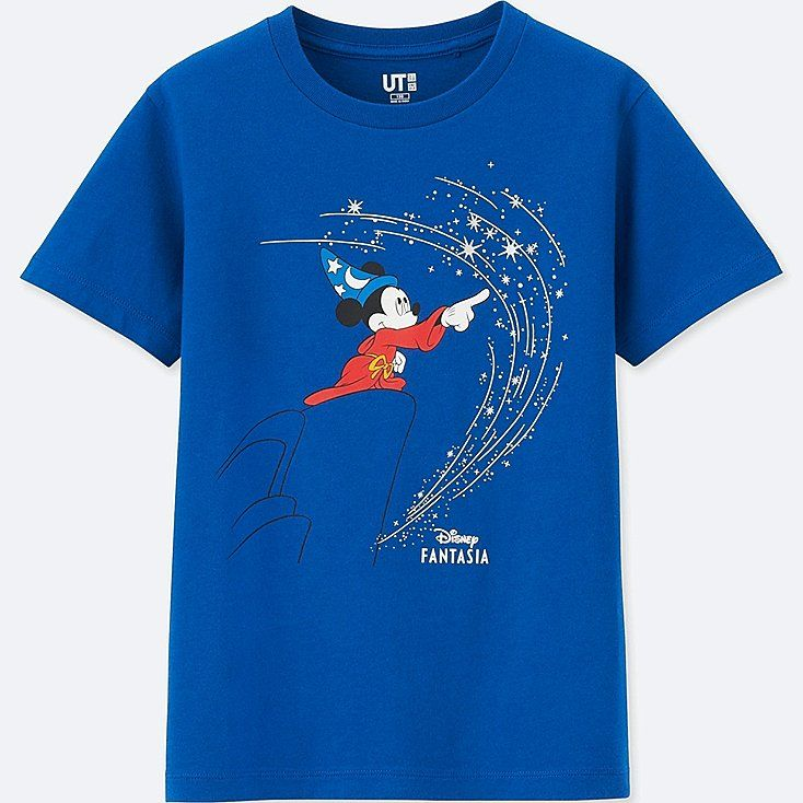 Kids Disney Fantasia Short Sleeve Graphic T Shirt Fantasia Disney Boys Graphic Tee Diy Disney Shirts