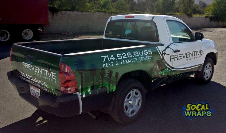 Vehicle wrap advertisement!